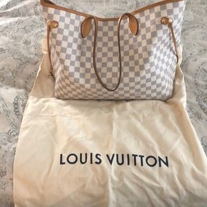 Louis Vuitton GM Neverfull and wallet!